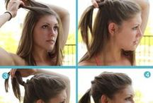 Workout Hairstyles / Do your hair in a pinch with these workout or post-workout hairstyles! / by Anytime Fitness