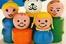 Vintage Toy Displays