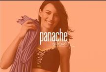 """Panache Sport / Panache sport, our award winning brand, is the ultimate sports bra designed for all sporting activities, to provide unrivalled comfort, fit and stability giving women confidence to do any impact sport. Developed and tested using the latest advances such as biomechanical technology, the bra encapsulates the breast rather than compressing them thus reducing bounce by 83%.  Available up to J cup. Back sizes 28"""" – 40"""".  / by Panache Lingerie"""