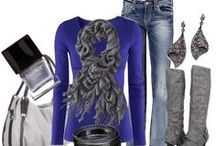 fall and winter fashion / all things cozy, sweaters, scarves, boots...
