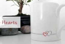 Two Hearts Collection / A stylish design created with love in mind. Two Hearts is a collection of products with an attractive illustration of two hearts, connected by flowing lines. It makes an ideal present for loved ones or for people who appreciate love in their life.