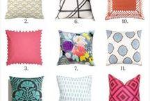 Throw Pillows / throw pillows, pillow, throw pillows, pretty pillows, sofa pillows, throw pillow combinations