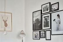 Gorgeous Wall Decor / Gallery walls, walls, art, wall decor, artwork, what to hang on blank walls