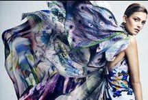 { floral scarves }