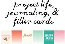 Crafts - Project Life & Printables
