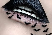 Gothic clothes and makeup