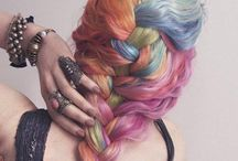 Colourful Dyed Hairstyles! / by Lottie Xxx