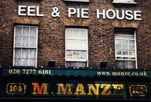 London Pie & Mash Shops / Check out our Top 5 London Pie & Mash shops, here: http://londonliving.at/top-5-londons-best-pie-and-mash-shops/