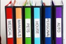 Household/Organization Tips