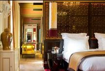 Lifestyle / Preview of our hotel environment and common inspirational atmospheres.  A blend of colonial and asian styles always in our favorite tones of black, gold and red Buddha-Bar Hotel Paris.