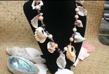 Handmade Necklaces - by ShellCentric / Necklaces made of New Zealand sea shells - proudly handcrafted in New Zealand. No animals harmed in the process.