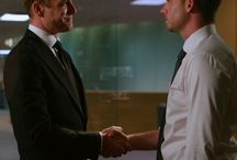 SUITS / I don't play the odds, I play the man - Harvey Specter  I don't get lucky, I make my own luck - Harvey Specter