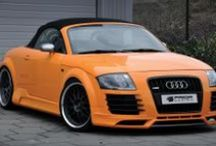 Custom Audi Cars / Audi cars modified by car customization businesses. See their products & projects at http://www.chariotz.com.