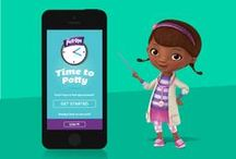 Time to Potty / Introducing the Time to Potty app from Pull-Ups®! It's the smartest way to take regular potty breaks and make learning to be a Big Kid fun for your child. / by Pull-Ups