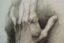 Art - hands and feet