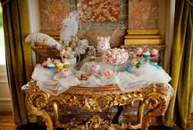 Loco for Rococo / Crystals, curls & cupid. Home decor for if I was single & an 18th century French Princess.