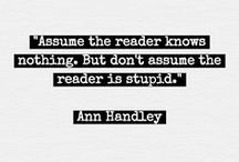 The Three R's: Reading, wRiting and Romance / Inside a writer's head is a scary place to be...