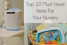 Things for Baby / All the things you might need for baby, including shopping lists, toy suggestions and baby products