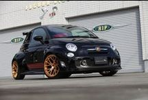Custom FIAT Cars / FIAT cars modified by car customization businesses. See their products & projects at http://www.chariotz.com.