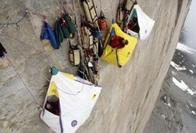cliff camping-outdoors