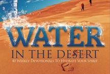 WATER IN THE DESERT Stuff / These are all quotes from WATER IN THE DESERT 40 Weekly Devotionals To Hydrate Your Spirit.  Available At Most Booksellers Online and in store at: Christian Bookstores, Barnes & Noble, Chapters/Indigo. www.sherrystahl.com