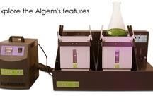 Algem labscale photobioreactor