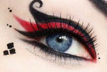 Maquillage / Eblouir en un regard...