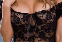 Lingerie / Fashionable and Alluring undergarments. Flexible, stretchy, & Sheer