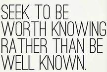 Inspirational/Quote Stuff.