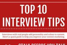 Job interview tips&tricks / Tired of ordinary text's, books and boring  lessons? It looks like we can help you! Check the best tips for a job interview and get lots of information in a very short time!
