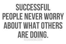 Work stuff / Be motivated