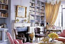 Interior Design Colors / neutrals, whites, blues, lavenders, moss greens