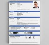 Creative CV Templates - CV Builder / Great graphic CV design that fits all the hr standards. The right cv template will get the attention you need. Impress the recruiter with a creative design to get the interest growing!