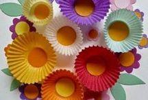 Рукоделие&Цветы из бумаги