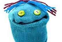 silly sock people / sock puppets and suchlike to bring a smile!