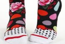 Spots, dots & circles | women / Spotty, dotty and circle design socks for women