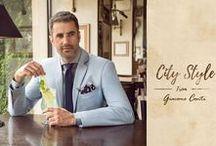 City Style from Giacomo Conti / Coraz intensywniejszy tryb życia w miastach nie zwalnia Mężczyzn z dobierania eleganckich stylizacji na najwyższym poziomie. Co więcej, w dobie kiedy Panowie coraz bardziej interesują się modą, aby się wyróżnić, należy być na bieżąco ze światowymi trendami :).
