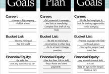 Goal Setting / Goal setting tips, resolutions to increase productivity and improve time management.