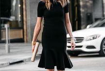Style / Fashion / Minimalist / Fashion and Style inspiration, Black and white fashion, Minimalist fashion, All black, Monochromatic outfit, Womens fashion, Simple style, Minimal wardrobe, Shoes