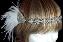Great Gatsby Inspiration / With Baz Luhrmann's fabulous adaptation of F. Scott Fitzgerald's classic 'The Great Gatsby' opening in cinemas in May, 1920's fashion is a huge trend for weddings this year. We have created several gorgeous art deco headpieces, hair combs, hair adornments and jewellery designs worthy of a 1920's socialite, to be worn with a touch of elegance and a strong sense of individuality. www.vintageheaddresses.com