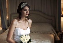 """Birdcage Veils / Birdcage veil designs with genuine vintage diamante adornments and handcrafted crystal, diamante or pearl detailing. Our collection of bridal birdcage veils includes Russian net, French net and tulle net blusher veil, visor veil, cap veil and eye-veil designs. As all designs are """"one-off's"""" featuring genuine vintage accessories, our collection changes regularly. Our birdcage wedding veil collection is perfect for the contemporary bride seeking a unique item of headwear."""
