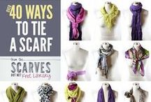 Scarfs Up / Stay warm this winter