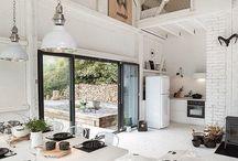 Loft / Interior design, Loft apartment, Loft ideas, Loft living, Home decoration, Industrial