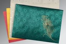 Indian wedding cards / We have great collection of Indian wedding cards or invitations with its accessories as well.