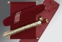 Scroll Wedding Cards / Fabulous collection of scroll wedding invitation cards.