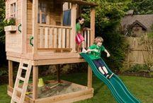 TEE ISE mängumaja või väljak {DIY, Playhouses and playgrounds }