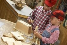 TEE ISE lastega puutööd {DIY woodprojects for kids}