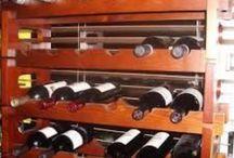 TEE ISE veiniriiul {Wooden wine racks }