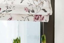 Urządzanie mieszkania / Kwiatowe rolety