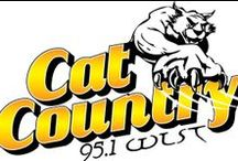 Cat Country / Cat Country is the heritage country station in the Bay Cities area, playing the best of country music since 1978. Cat Country continues to lead the market with great old and new tunes from Toby Keith, Tim McGraw, Taylor Swift, Carrie Underwood, George Straight, Montgomery Gentry, Sara Evans, Josh Turner, Jason Aldeen, and many other talented artists.